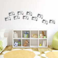 counting sheep wall art decal counting sheep wall decal