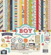 12x12 Scrapbook Echo Park That U0027s My Boy 12x12 Scrapbook Collection Kit U2013 Oh My