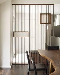 divider modern entry modern with room divider wall shelves wood