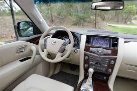 nissan sunny 2015 interior view of nissan patrol 5 6 at top photos video features and