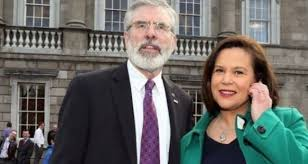 Shadow Front Bench Gerry Adams Signals Intent To Lead Sinn Féin Into Next Election