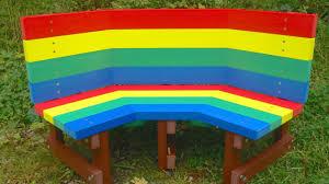 children u0027s recycled plastic buddy bench youtube