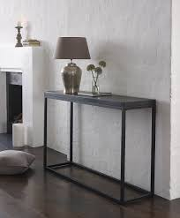 Slimline Console Table Slim Glass Console Table From Great Designer Afrozep Decor