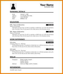 resume template pdf 7 resume templates pdf professional resume list