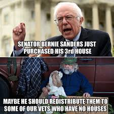 Bernie Sanders New House Pictures by Meme Destroys Socialist Bernie For This Massive Hypocrisy Look