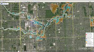 Michigan Google Maps by Flood Maps Michigan Michigan Map