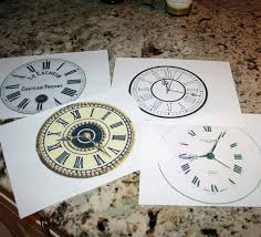 new year plates 2015 new years printable clock plates pattern clock craft new