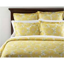 Sunflower Bed Set Comely Organic Bedding With Flowers In Yellow Print Bedding