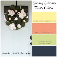 picking a front door color doors favorite paint colors blog