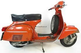 vespa 125 gtr vnl2t originallack rosso corallo 811 orange rusty