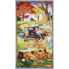 bringing in the harvest large panel multi discount designer