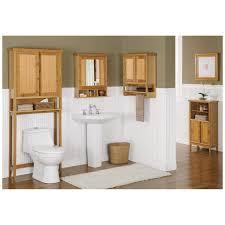 Large Pedestal Sinks Bathroom Bathroom Runner Rug Wooden Wall Cabinet Medicine Linen Pedestal