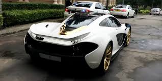 mclaren p1 price this mclaren p1 wears more gold than mr t