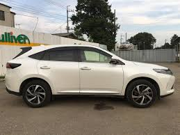 lexus harrier 2012 2017 toyota harrier used car for sale at gulliver new zealand