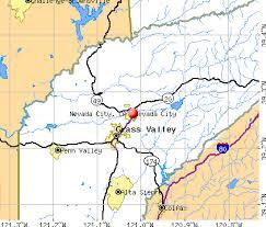 map of cities in california nevada city california ca 95959 profile population maps