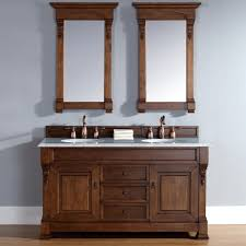 All Wood Vanity For Bathroom by Bathroom Solid Wood Country Bathroom Vanity With Twin Undermount