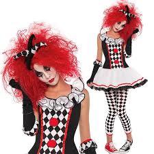 Womens Joker Halloween Costume by Harlequin Costume Ebay