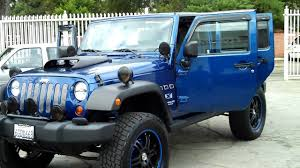navy blue jeep wrangler 2 door jeep commander 2006 blue wallpaper 1024x768 13833