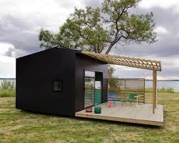 mini house modular structured house with modern scandinavian