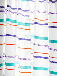 customize store bought curtains with ribbon trim hgtv