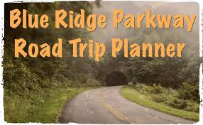 Scenic Route Map by Blue Ridge Parkway Road Trip Planner Skyline Drive