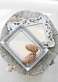 Delightful Vanity Trays For Bathroom Diy Turn A Picture Frame Into An Antique Mirror Or Vanity Tray