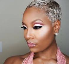 the blonde short hair woman on beverly hills housewives alissa ashley tapered natural straightened hair