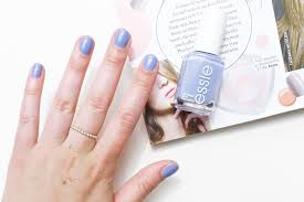 essie nail polish in lapiz of luxury a little soapbox