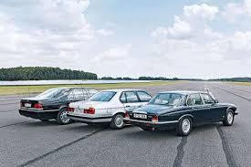 bmw 12 cylinder cars bmw 750i mercedes 600 sel and daimler six 12 cylinder