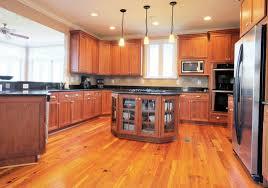 Kitchen Flooring Installation Hardwood Floor Installation In The Kitchen Timberline Flooring