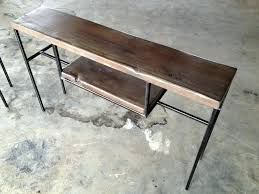 Hairpin Leg Console Table Reclaimed Wood Console Table Canada Diy Barn Modern Rustic Sofa