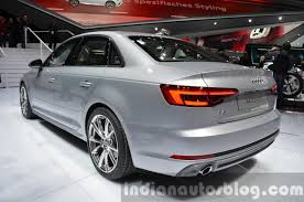audi a4 2015 india bound 2016 audi a4 rear three quarter at the iaa 2015