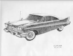 wrecked car drawing 1958plymouthfury explore 1958plymouthfury on deviantart