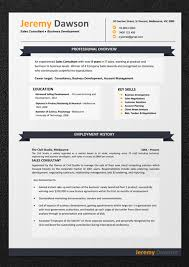 Australian Resume Templates Resume Templates Download Professional Resume Template And Cv
