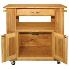 stylish oak kitchen island cart with liberty cabinet door magnetic