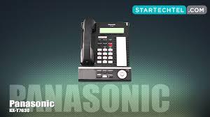 how to set u0026 adjust the ringtone on the panasonic kx t7630 phone