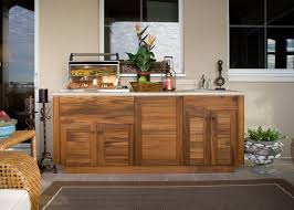 Outdoor Bbq Furniture by Outdoor Kitchen Wood Cabinets Your Best And Easy Outdoor