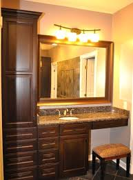 Bathroom Vanity With Side Cabinet Bathroom Vanities With Side Cabinets Bathroom Vanity With Two Side