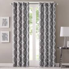 Geometric Pattern Curtains Park Westmont Geometric Pattern Curtain Panel Single