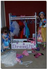 diy dress up storage teach them to organize their closets early