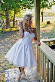 short wedding dresses with cowboy boots naf dresses