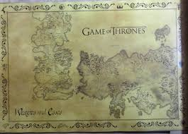 Map Of Essos Westeros Essos Map Poster Image Gallery Hcpr