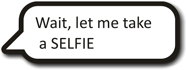 Take A Selfie Wait Let Me Take A Selfie Photo Booth Prop Looks Like A Phone