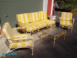 Woodard Patio Furniture Cushions by Wrought Iron Patio Furniture Vintage Home Design Ideas And Pictures