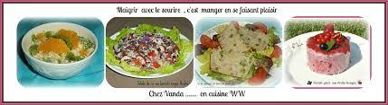 cuisine ww nouveau de cuisine recettes ww ou allégées chez vanda