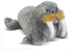webkinz walrus soft toy amazon co uk toys u0026 games