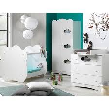 chambre complete de bébé chambre complète lit bébé 60x120 commode à langer armoire 2