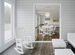 plastic acrylic rocking chairs porch contemporary with indoor
