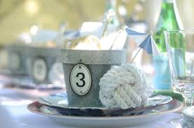 Nautical Table Decorations Iron U0026 Twine Memorial Day Nautical Table Setting