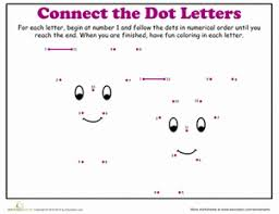 dot to dot letters of the alphabet education com